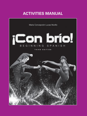 Con brio: Beginning Spanish, Activities Manual , 3rd Edition (1118350383) cover image