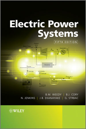 Electric Power Systems, 5th Edition (1118361083) cover image