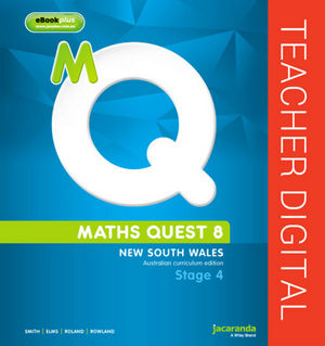 Maths Quest 8 for New South Wales Australian Curriculum Edition eGuidePLUS (Online Purchase)