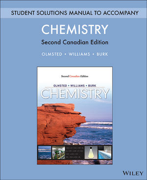 Student Solutions Manual for Chemistry, 2nd Canadian Edition