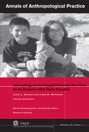 Anthropology and the Engaged University: New Vision for the Discipline within Higher Education (1118905083) cover image