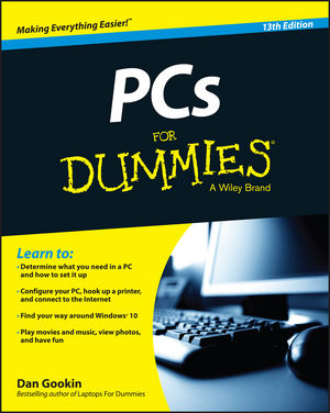PCs For Dummies, 13th Edition (1119041783) cover image