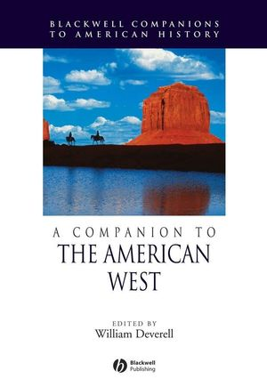 A Companion to the American West (1405138483) cover image
