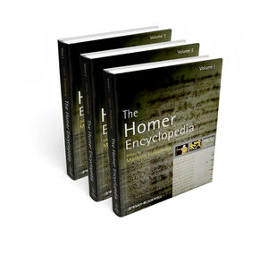 The Homer Encyclopedia, Three Volume Set (1405177683) cover image