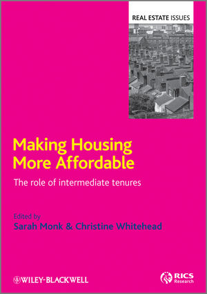 Making Housing more Affordable: The role of intermediate tenures (1444340883) cover image