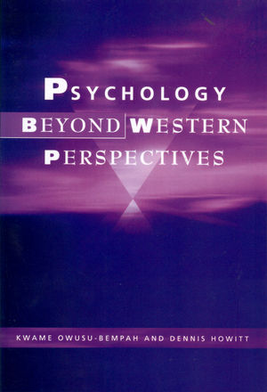 Psychology Beyond Western Perspectives (1854333283) cover image
