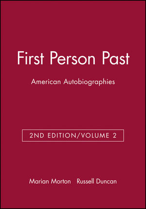 First Person Past, Volume 2, 2nd Edition