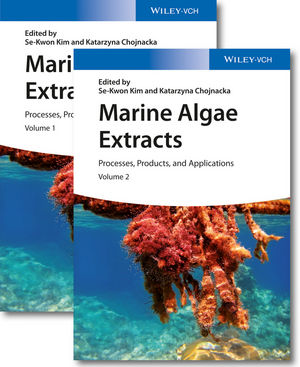 Marine Algae Extracts: Processes, Products, and Applications, 2 Volume Set (3527337083) cover image