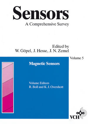 Sensors, A Comprehensive Survey, Volume 5, Magnetic Sensors (3527620583) cover image