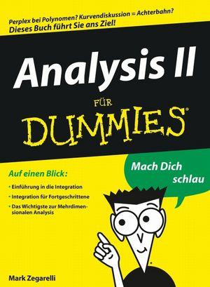 Analysis II für Dummies (3527657983) cover image