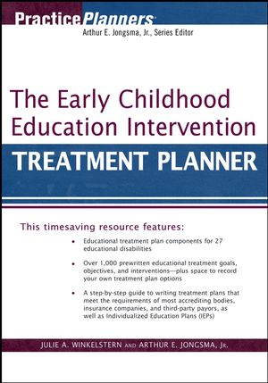 The Early Childhood Education Intervention Treatment Planner (0470040084) cover image