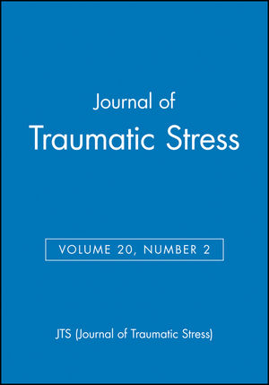 Journal of Traumatic Stress, Volume 20, Number 2