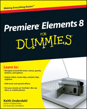 Premiere Elements 8 For Dummies (0470453184) cover image