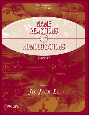 Name Reactions for Homologation, Part 2  (0470464984) cover image