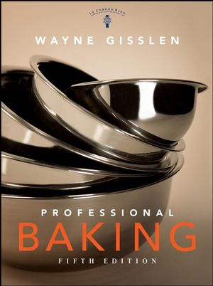Professional Baking, College Version with CD-ROM, 5th Edition (0470623284) cover image