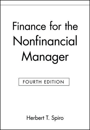 Finance for the Nonfinancial Manager, 4th Edition (0471127884) cover image