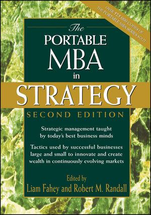 The Portable MBA in Strategy, 2nd Edition (0471197084) cover image