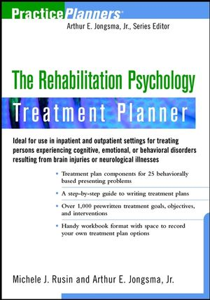 The Rehabilitation Psychology Treatment Planner (0471351784) cover image