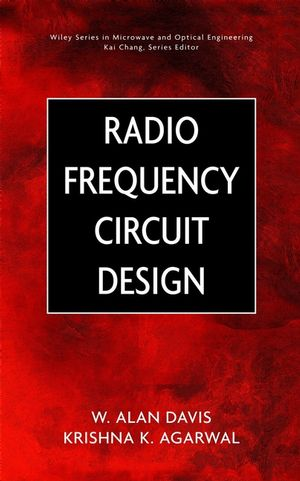 Radio Frequency Circuit Design (0471463884) cover image