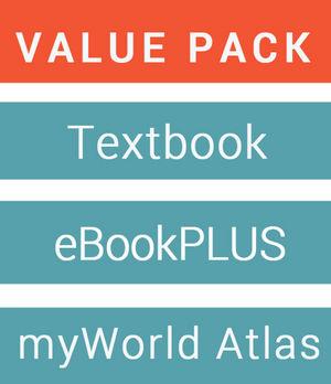 Geography Alive 10 For The Australian Curriculum & eBookPLUS + Jacaranda MyWorld Atlas AC Edition (Card)