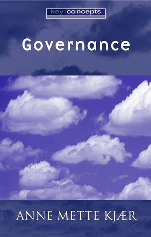 Governance (0745629784) cover image