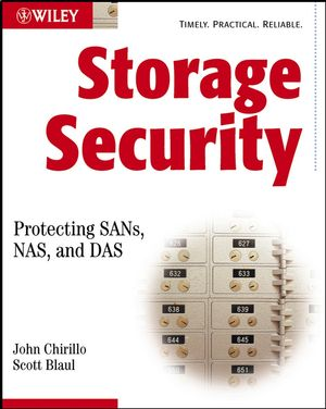 Storage Security: Protecting SANs, NAS and DAS (0764516884) cover image