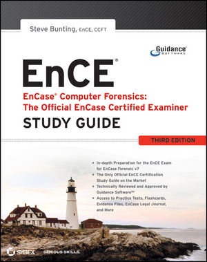 EnCase Computer Forensics -- The Official EnCE: EnCase Certified Examiner Study Guide, 3rd Edition (1118058984) cover image