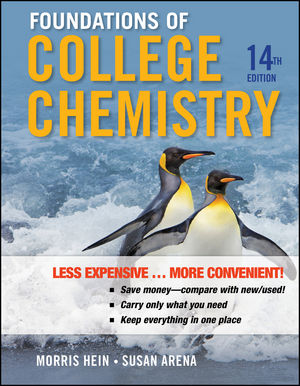 Foundations of College Chemistry, 14th Edition Binder Ready Version
