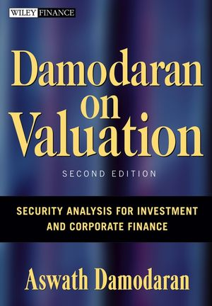 Damodaran on Valuation: Security Analysis for Investment and Corporate Finance, 2nd Edition (1118161084) cover image