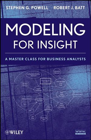 Modeling for Insight: A Master Class for Business Analysts (1118210484) cover image