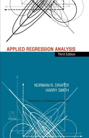 Applied Regression Analysis, 3rd Edition (1118625684) cover image