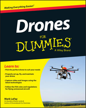 Drones For Dummies (1119049784) cover image