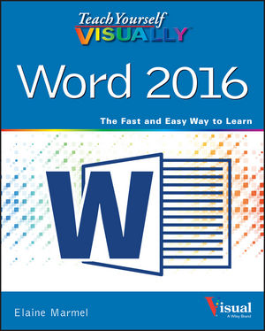 Teach Yourself VISUALLY Word 2016 (1119074584) cover image
