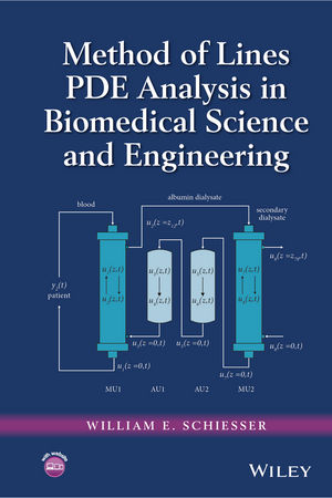 Method of Lines PDE Analysis in Biomedical Science and Engineering (1119130484) cover image