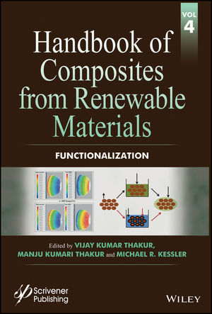 Handbook of Composites from Renewable Materials, Volume 4, Functionalization (1119223784) cover image