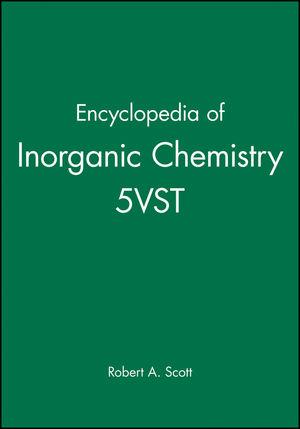 Encyclopedia of Inorganic Chemistry 5VST (1119994284) cover image