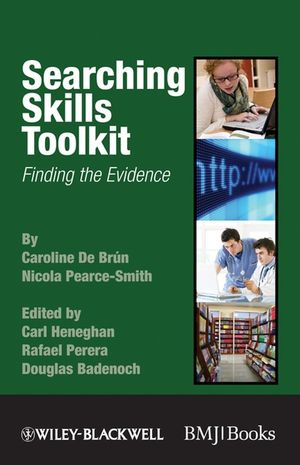 Searching Skills Toolkit: Finding the Evidence (1405178884) cover image