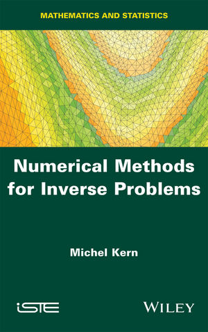 Numerical Methods for Inverse Problems (1848218184) cover image