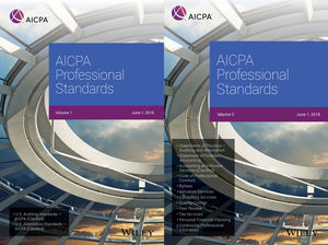 AICPA Professional Standards, 2018, Volumes 1 and 2