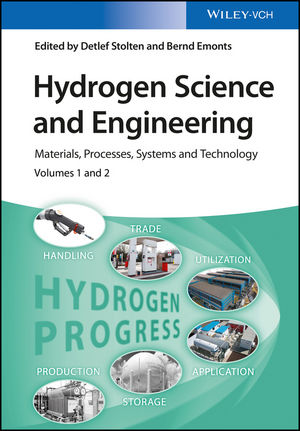 Hydrogen Science and Engineering: Materials, Processes, Systems and Technology, 2 Volume Set (3527674284) cover image