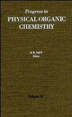 Progress in Physical Organic Chemistry, Volume 18 (0470172185) cover image