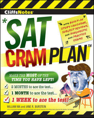 CliffsNotes SAT Cram Plan (0470470585) cover image