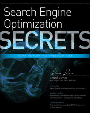 Search Engine Optimization (SEO) Secrets (0470554185) cover image