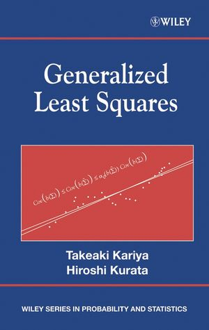 Generalized Least Squares (0470866985) cover image
