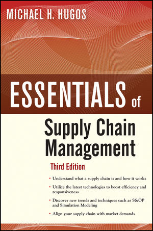 Essentials of Supply Chain Management, 3rd Edition (0470942185) cover image