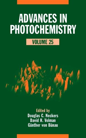 Advances in Photochemistry, Volume 25 (0471327085) cover image
