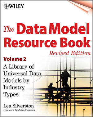 The Data Model Resource Book, Volume 2: A Library of Universal Data Models by Industry Types, Revised Edition (0471353485) cover image