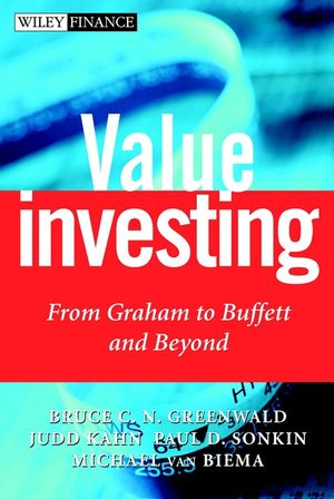 Value Investing: From Graham to Buffett and Beyond (0471381985) cover image