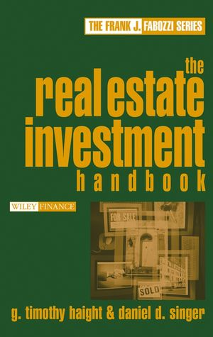 The Real Estate Investment Handbook (0471716685) cover image