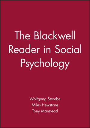 The Blackwell Reader in Social Psychology